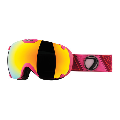 T1 Snow Goggle // Sirmiq Magenta // Northern Lights Lens
