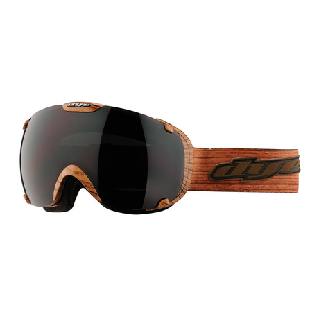 T1 Snow Goggle // Woodie // 2 Lens Pack