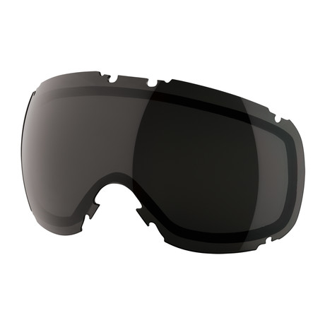 T1 Snow Goggle Lens // Jet Black