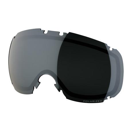 T1 Snow Goggle Lens // Smoke Silver Polarized
