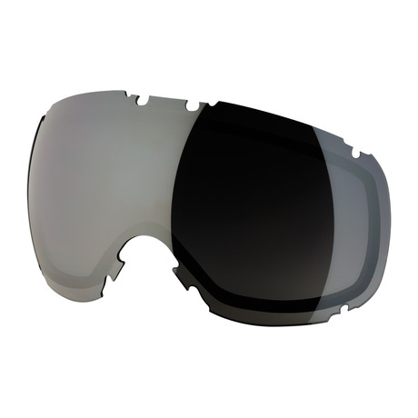 T1 Snow Goggle Lens // Faded Smoke Silver