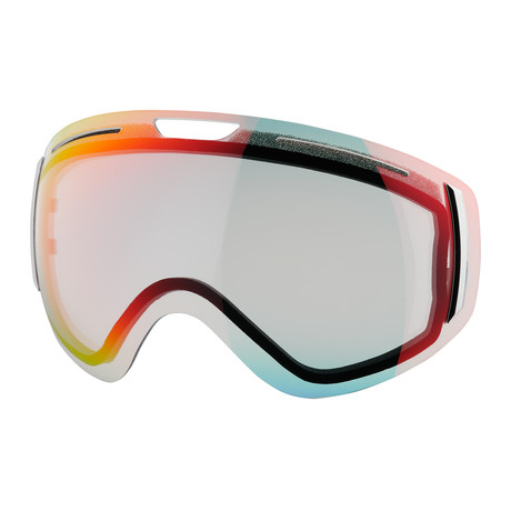 CLK Snow Goggle Lens // Clear Sunrise