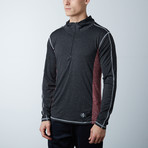 Parry Fitness Tech Pullover // Black + Blue // Pack of 2 (S)