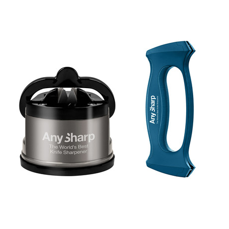 AnySharp Pro Steel + Multitool Sharpener