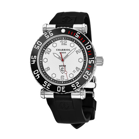 Charriol Geneve Diver Quartz // RT42DIVB.142.D02