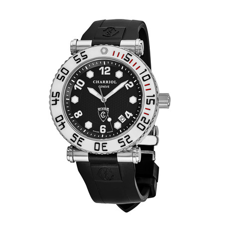 Charriol Geneve Diver Quartz // RT42DIVW.142.D01