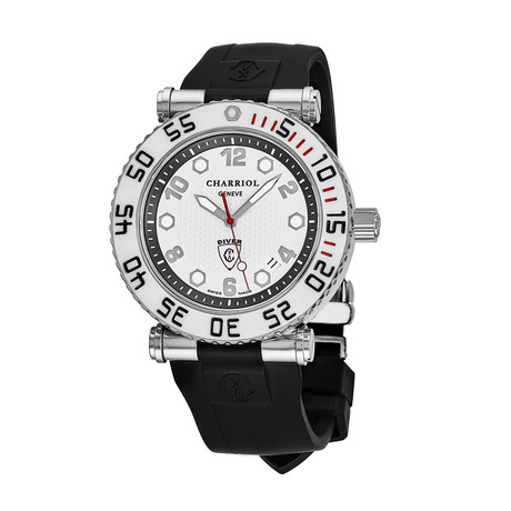 Charriol Geneve Diver Quartz // RT42DIVW.142.D02