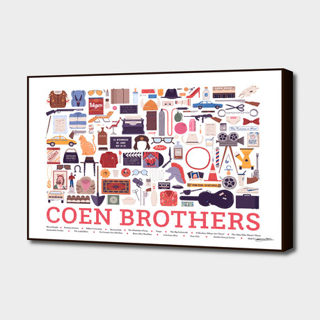 "Coen Brothers (20""W x 16""H x 1.5""D)"