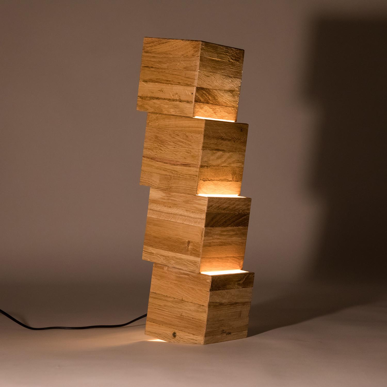 Nemmnom handmade wooden floor lamp lune et animo touch of modern nemmnom handmade wooden floor lamp aloadofball Image collections