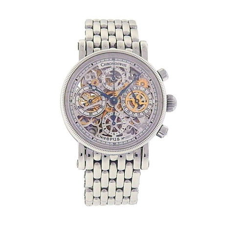 Chronoswiss Opus Skeleton Chronograph Automatic // CH7523SSBL // Pre-Owned