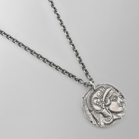 Athena & The Owl // Sterling Silver