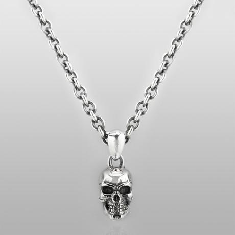 Last Man Standing Skull Necklace