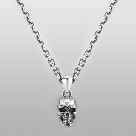 Last Man Standing Necklace // Sterling Silver
