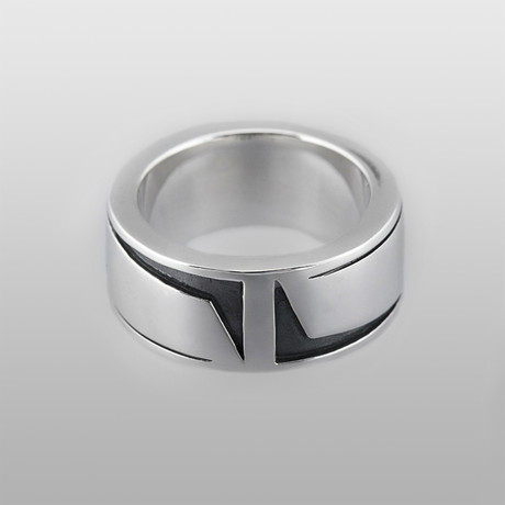 Justice // Sterling Silver (Size 8)