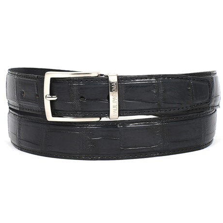 Genuine Crocodile Belt // Black (S)