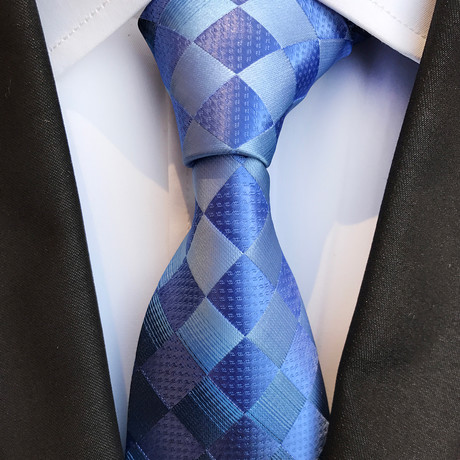 Gruber Tie // Blue + Light Blue