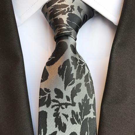 Winkler Tie // Grey + Black