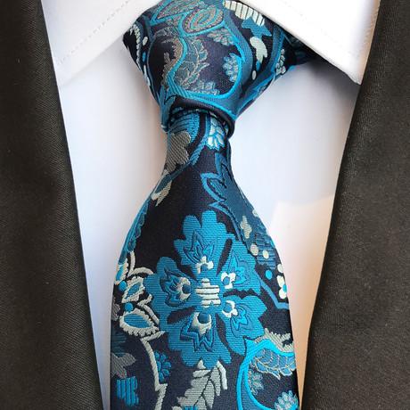 Weber Tie // Blue + Teal