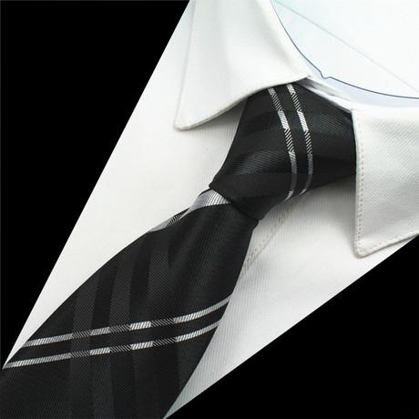 Bauer Tie // Black + White