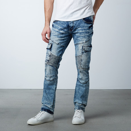 Cargo Jean // Medium Blue (30WX32L)