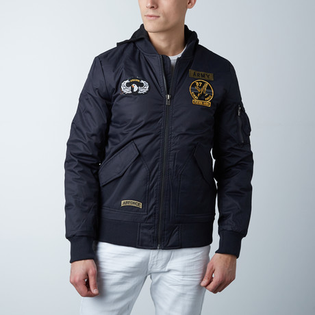 Classic Flight Jacket // Navy (M)