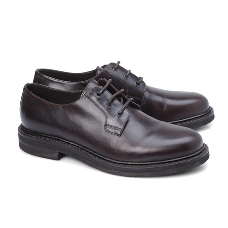 Colombo Plain Toe Derby // Black (Euro: 39)