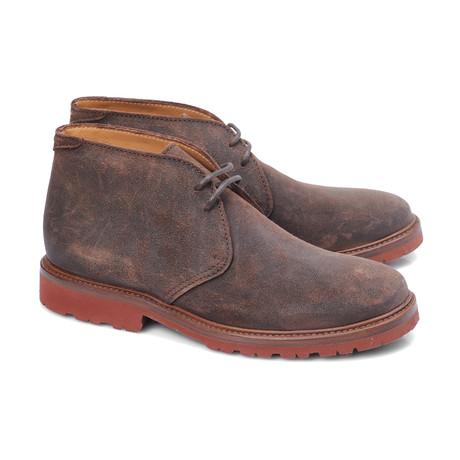 Ricci Suede Desert Boot // Dark Taupe (Euro: 39)