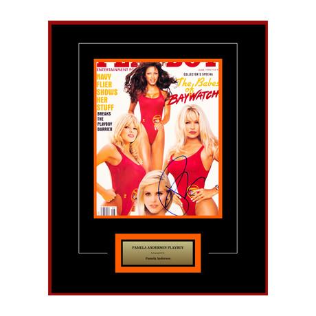 Framed + Signed Artist Series // Pamela Anderson