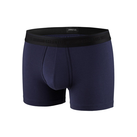 Josiah Boxer Brief // Navy (XS)