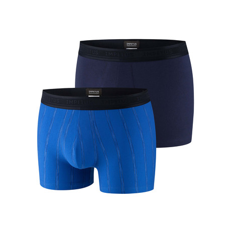 Keagan Boxer Brief 2-Pack // Blue (XS)