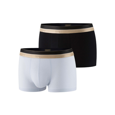 Howard Boxer Brief 2-Pack // Black + White (XS)