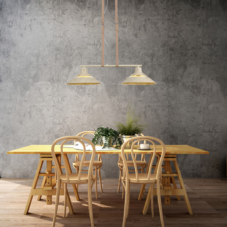 Lyon Twin Kitchen Pendant Lamp