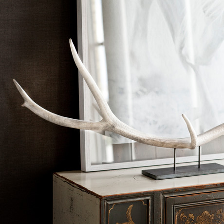 Large Elk Antler Centerpiece (Natural)