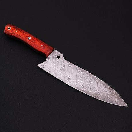 Damascus Chef Knife // 9080