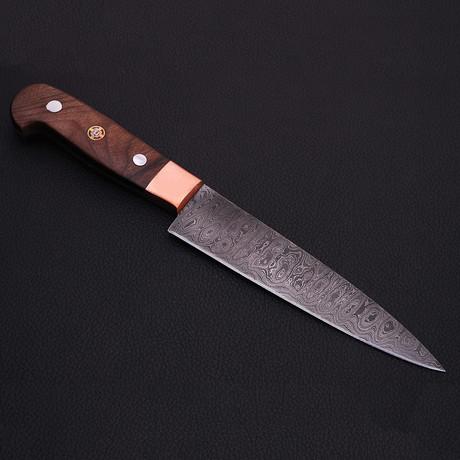 Damascus Kitchen Knife // 9059