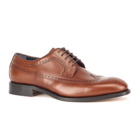 Monday Wingtip Derbies // Cognac (Euro: 39)