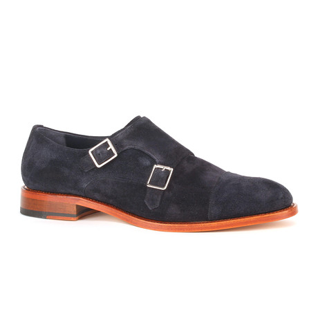 Tuesday Double Monk Strap // Navy (Euro: 39)