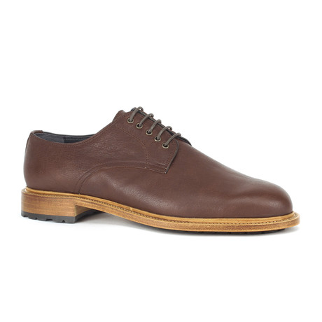 Thursday Plain-Toe Derbies // Chocolate (Euro: 39)