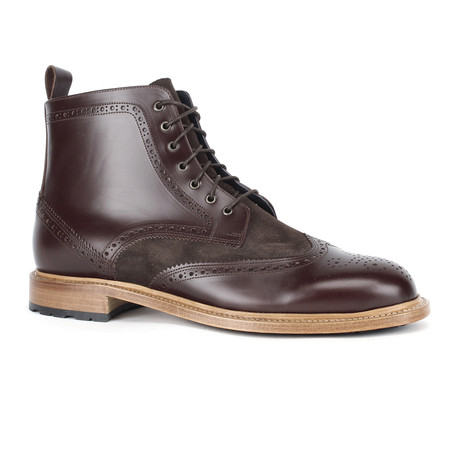 Sunday Brogue Boots // Brown (Euro: 39)