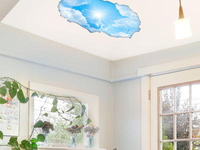 Photo of Ambiance Live 3D Wall Decals The Closest Sun by Touch Of Modern