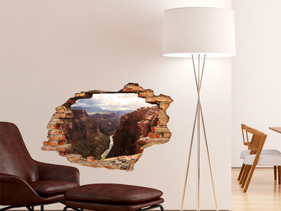 Photo of Ambiance Live 3D Wall Decals Grand Canyon by Touch Of Modern