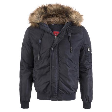 Winter Coat // Navy (XS)
