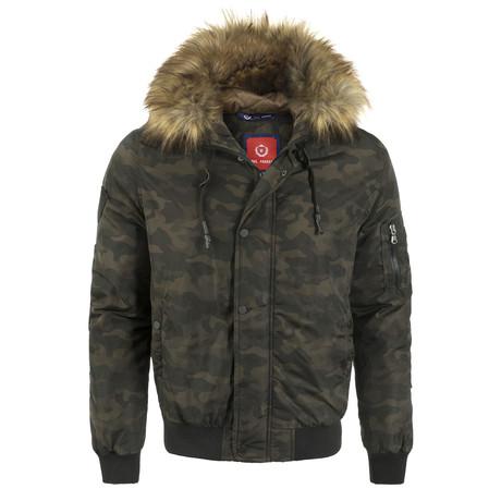 Winter Coat // Camouflage (XS)