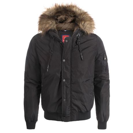 Winter Coat // Black (XS)
