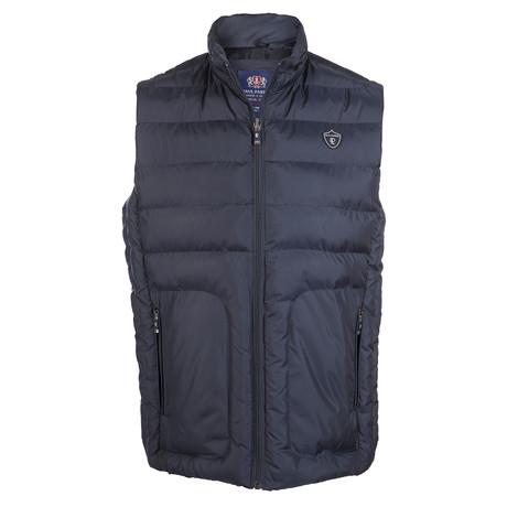 Crest Vest // Navy (S)