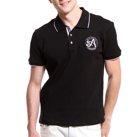 Signature Polo // Black (S)