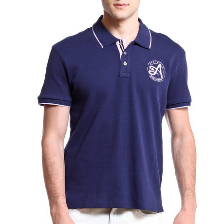 Signature Polo // Navy (S)