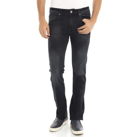 Jeans // Blue + Black (XS)