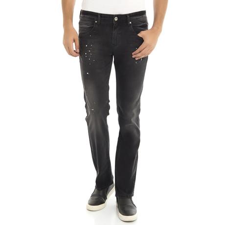 Jeans // Black + White (XS)