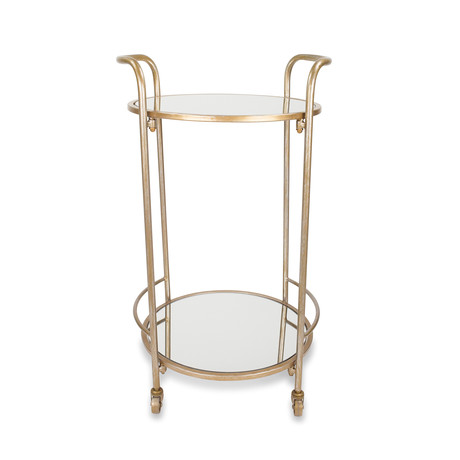 Katrine Brighton Bar Cart (Black Gold)